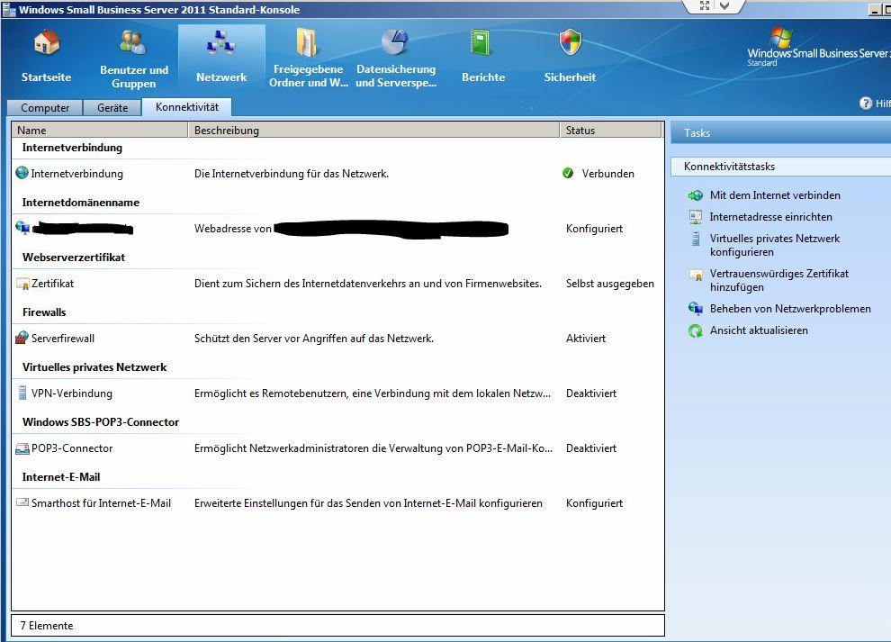 Abgelaufene Zertifikate am Small Business Server 2011 erneuern