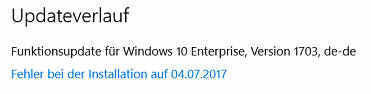 Windows 10 Feature Updates mit WSUS verteilen