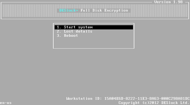 Wie findet der Benutzer seine Arbeitsstations-ID