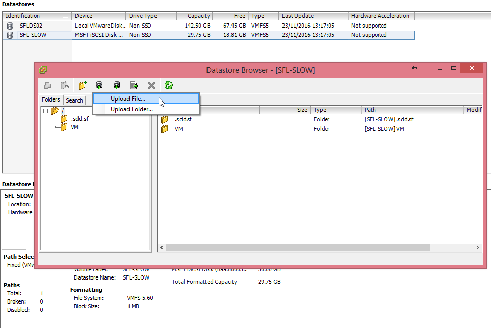 Altaro Boot from Backup unter VMware