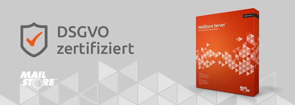 MailStore Server jetzt DSGVO-zertifiziert