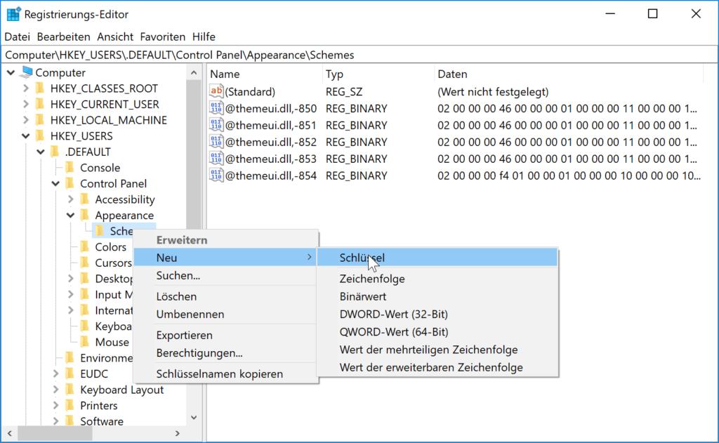 Registrierungs-Editor