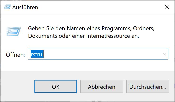 Konfigurieren und Verwenden der Systemwiederherstellung in Windows 10