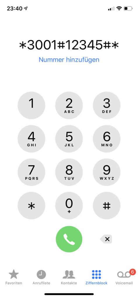 Geheime Funktionen im iPhone aufrufen