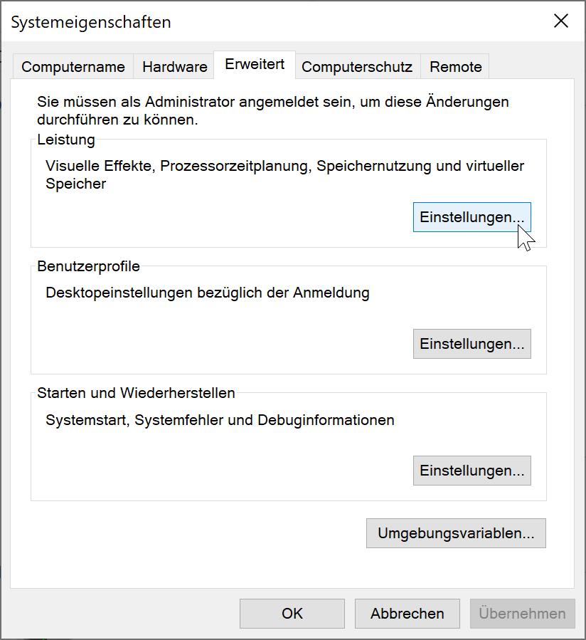 Konfigurieren der Schriftglättung in Windows 10