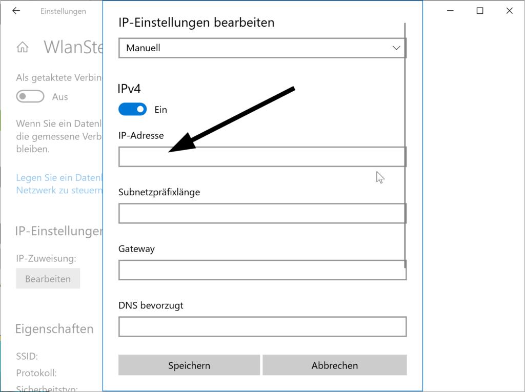 So konfigurieren Sie eine statische IP-Adresse unter Windows 10