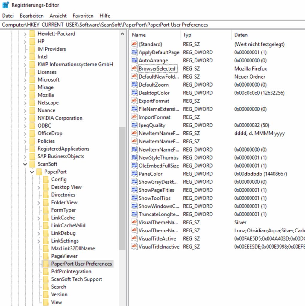 PaperPort startet unter Windows 10 nicht mehr