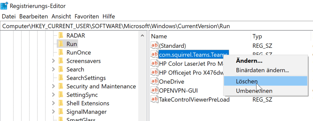 Microsoft Teams nicht automatisch starten