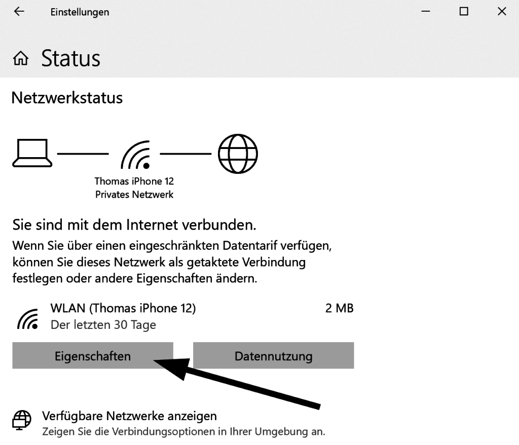 So konfigurieren Sie getaktete Verbindungen in Windows 10