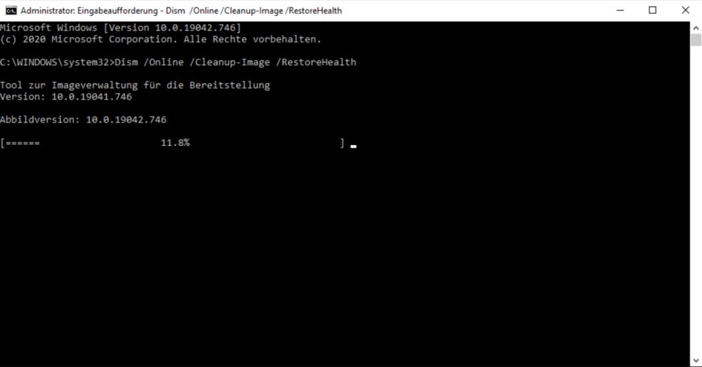 Windows Update Fehlercode 0x800f0922